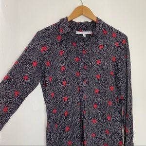 &Other Stories Star Patterned Button Down